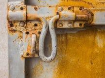 Το παλαιό κλείδωμα πορτών Στοκ φωτογραφίες με δικαίωμα ελεύθερης χρήσης