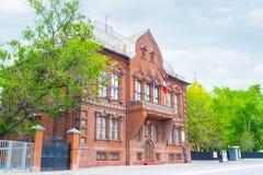 Το παλαιό μέγαρο Tsvetkov Στοκ φωτογραφίες με δικαίωμα ελεύθερης χρήσης