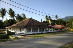 Το παλαιό μουσουλμανικό τέμενος Pengkalan Kakap σε Merbok, Kedah Στοκ εικόνα με δικαίωμα ελεύθερης χρήσης