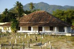 Το παλαιό μουσουλμανικό τέμενος Pengkalan Kakap σε Merbok, Kedah Στοκ Εικόνες