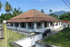 Το παλαιό μουσουλμανικό τέμενος Pengkalan Kakap σε Merbok, Kedah Στοκ Φωτογραφία