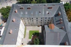 Το παλαιό ναυπηγείο το καλοκαίρι Lviv Στοκ φωτογραφία με δικαίωμα ελεύθερης χρήσης