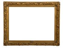 Το παλαιό πλαίσιο είναι πολύ παλαιό με τις ρωγμές και ανώμαλο που απομονώνονται στο άσπρο υπόβαθρο, με το ψαλίδισμα των πορειών Στοκ φωτογραφίες με δικαίωμα ελεύθερης χρήσης