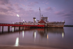 Το παλαιό σκάφος, Chanthaburi, Ταϊλάνδη, Στοκ Εικόνες