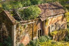 Το παλαιό σπίτι του Νεπάλ Στοκ εικόνα με δικαίωμα ελεύθερης χρήσης