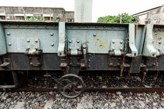 Το παλαιό τραίνο Στοκ Εικόνες