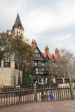 Το παλαιό φέουδο της Αγγλίας Στοκ φωτογραφία με δικαίωμα ελεύθερης χρήσης