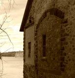 Το παλαιό φράγμα Στοκ εικόνες με δικαίωμα ελεύθερης χρήσης