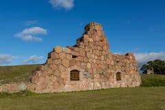 Το παλαιό φρούριο, καταστροφές Στοκ φωτογραφία με δικαίωμα ελεύθερης χρήσης