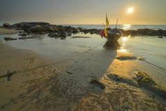 Το παλαιό ύφος αλιευτικών σκαφών Στοκ εικόνες με δικαίωμα ελεύθερης χρήσης