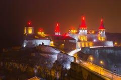 Το παλαιό Castle σε kamenets-Podolskyy Στοκ φωτογραφία με δικαίωμα ελεύθερης χρήσης