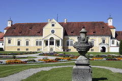 Το παλαιό Castle Schleissheim κοντά στο Μόναχο στην ανώτερη Βαυαρία Στοκ φωτογραφία με δικαίωμα ελεύθερης χρήσης