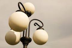 Το παλαιό lamppost Στοκ Εικόνες