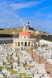 Το παλαιό San Juan, νεκροταφείο οχυρών EL Morro και της Σάντα Μαρία Magdalena, Στοκ φωτογραφία με δικαίωμα ελεύθερης χρήσης