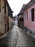 Το παλαιό Sibiu, Ρουμανία Στοκ Εικόνα