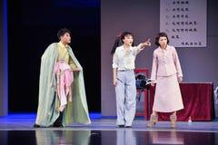 Το παλτό παρανόηση-Jiangxi OperaBlue Στοκ Εικόνες