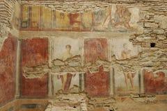 Το πεζούλι Ephesus στεγάζει το διάσημο, Α δ 1 Στοκ Φωτογραφία