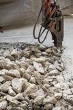 Το πεζοδρόμιο που είναι καταστρέφει Στοκ Εικόνες