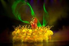 Το περίπτερο Peony--Ιστορικός μαγικός ο μαγικός δράματος τραγουδιού και χορού ύφους - Gan Po Στοκ Φωτογραφία