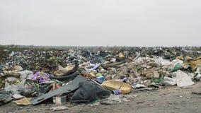 Το περιβάλλον, απόρριψη απορριμάτων στην Ουκρανία απόθεμα βίντεο