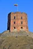 Πύργος με τη σημαία Στοκ φωτογραφία με δικαίωμα ελεύθερης χρήσης