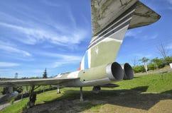 Το πηδάλιο ενός ακοντίου Gloster Στοκ Εικόνες
