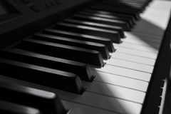 Το πιάνο στοκ φωτογραφίες με δικαίωμα ελεύθερης χρήσης