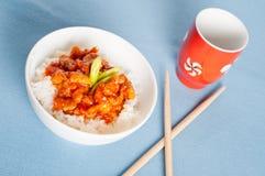 Πικάντικη κορεατική σχάρα γνωστή επίσης ως Hanmari Στοκ Φωτογραφία
