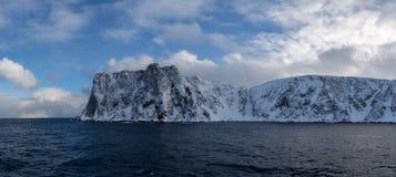 Το πιό απώτατο βόρειο σημείο της Ευρώπης στοκ εικόνες