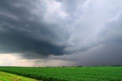 το πιό miwesτο αυστηρό thunderstorm ΗΠΑ Στοκ Φωτογραφία