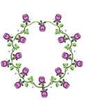 το πλαίσιο λουλουδιών & Στοκ Φωτογραφία