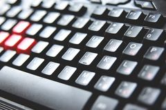 Το πληκτρολόγιο, κλείνει επάνω στοκ εικόνα με δικαίωμα ελεύθερης χρήσης