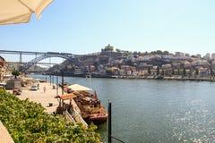 Το πνεύμα της βάρκας Chartwell ` s από τον ποταμό Douro, Πόρτο στοκ εικόνες με δικαίωμα ελεύθερης χρήσης