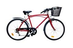 το ποδήλατο απομόνωσε τ&omicr Στοκ εικόνα με δικαίωμα ελεύθερης χρήσης