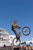 Το ποδήλατο ιχνών εμφανίζει Στοκ Φωτογραφία