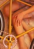 το ποδήλατο ι αγαπά το μο&u στοκ φωτογραφία