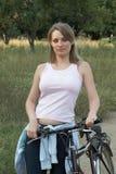το ποδήλατο χαλαρώνει τη  Στοκ εικόνα με δικαίωμα ελεύθερης χρήσης