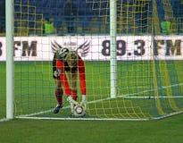 το ποδόσφαιρο kharkiv lutsk ταιριάζ&eps Στοκ φωτογραφίες με δικαίωμα ελεύθερης χρήσης