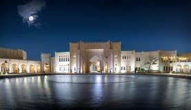 Το πολιτιστικό χωριό Katara σε Doha, Κατάρ στοκ φωτογραφίες