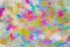 Το πολύχρωμο υπόβαθρο με τα κτυπήματα βουρτσών κοιτάζει διανυσματική απεικόνιση