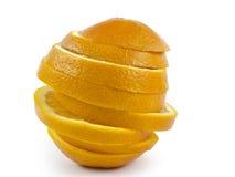 Το πορτοκάλι αποκοπών Στοκ εικόνες με δικαίωμα ελεύθερης χρήσης