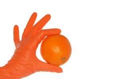 το πορτοκάλι παρουσιάζ&epsi Στοκ φωτογραφία με δικαίωμα ελεύθερης χρήσης