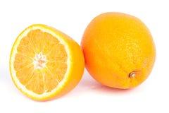 το πορτοκάλι τεμάχισε τ&omicron Στοκ Φωτογραφία