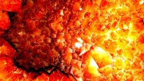Το πορτοκάλι geode εκδίδει στοκ φωτογραφία με δικαίωμα ελεύθερης χρήσης