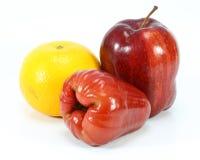 Το πορτοκαλί μήλο αυξήθηκε μήλο Στοκ Εικόνες
