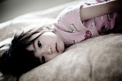 Το πορτρέτο ενός κοριτσιού στοκ εικόνα με δικαίωμα ελεύθερης χρήσης