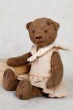Το πορτρέτο ντεμοντέ teddy αντέχει Στοκ φωτογραφία με δικαίωμα ελεύθερης χρήσης
