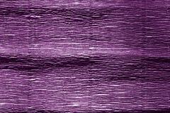 Το πορφυρό χρώμα crepe το έγγραφο Στοκ εικόνες με δικαίωμα ελεύθερης χρήσης