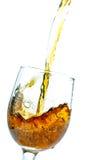 Το ποτήρι του κρασιού Στοκ Εικόνες