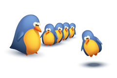 Το πουλί πετά ελεύθερη απεικόνιση δικαιώματος